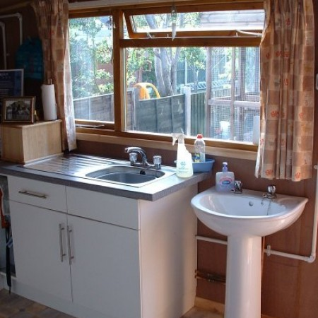 Kitchen Sink at Toton Cattery